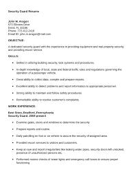 Security Resume Custom Security Resumes 28 Gahospital Pricecheck