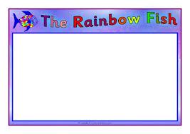 Rainbow Fish A4 Page Borders Sb11315 Sparklebox