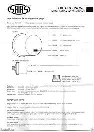 wiring diagram for oil pressure gauge the wiring diagram vdo oil pressure wiring diagrams nilza wiring diagram