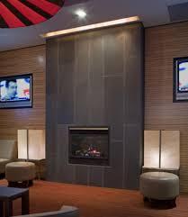 contemporary fireplace decor
