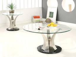 modern round glass coffee table round glass coffee table chrome modern glass coffee tables uk
