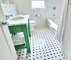 black and white ceramic floor tile vintage black and white bathroom floor design ideas black and