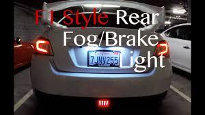 Wrx F1 Fog Light F1 Style Rear Fog Brake Light 2015 Wrx Sti