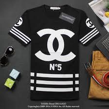 chanel t shirt. t-shirt no5 cc black white stripes blouse shirt chanel polo cocochanelno5 channel t