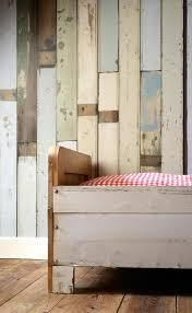Steigerhout Behang Slaapkamer Behang Vliebehang Wallpaper Site Voor