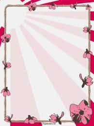 Small Picture Pink flowers and bamboo decorate this free printable Chinese