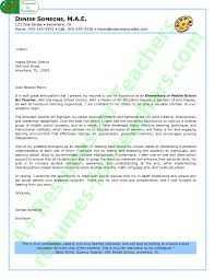 Educator Cover Letter Art Teacher Cover Letter Sample