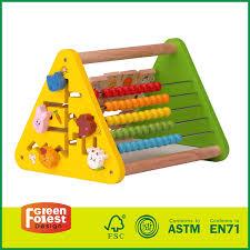 Wooden Bead Game Wooden Traffic Bead Gamekids Wooden First Bead Maze Toy Robot 9