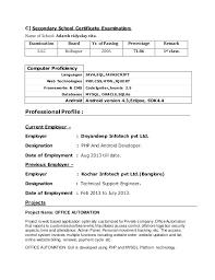 Java Sample Resume 4 Years Experience 4 Years Experience Resume