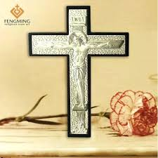 metal cross wall decor catholic ping sites whole inspirational gifts metal and wood cross wall crucifix