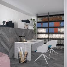 Home Designs: Black Wall Design - Warm Industrial Design