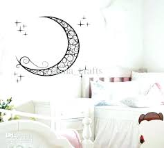 Toy Story Wall Stickers Kids Bedroom Decor Large Wall Decals With Removable  Moon Wall Stickers Kids Room Wall Stickers Decals Baby Room Bedroom Lamps