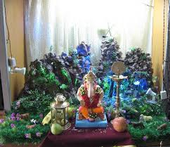 ganesh chaturthi decoration ideas ganesh pooja decor varo