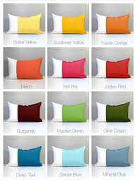 Green & White Outdoor Pillow Cover Modern Olive Green Pillow
