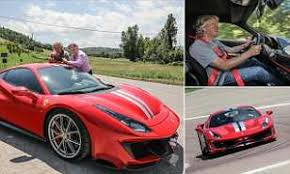 James may needs no introduction in these parts, but i'll give him one anyway. Ray Massey Takes The New Ferrari 488 Pista For A Spin With James May This Is Money