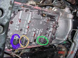 transmission solenoids locations ah forums transmission solenoids locations a340h soleloc jpg