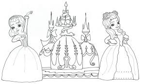 Small Picture Princess Sofia Coloring Pages coloringsuitecom