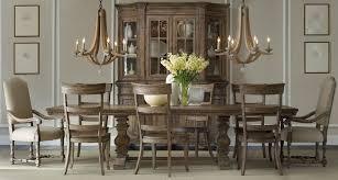 Hooker Furniture Sorella Rectangular Pedestal Dining Table Set ...