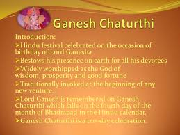 ganesh chaturthi   project on ganesh chaturthi 2