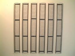 excellent ikea black metal wire cd storage rack wall mounted 1210mm x 140mm holds 84 cds