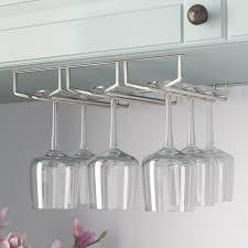 mind reader hanging wine glass rack reviews wayfair in plan 1