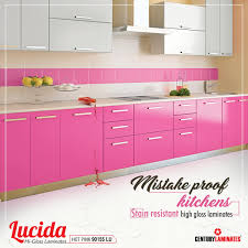 Lucida High Gloss Laminates Are Stain Resistant Best Choice For