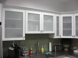 Clear Kitchen Cabinet Doors With Modern Glass Door Brown Wood And