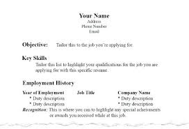 Tailor Resume Sample Awesome Collection Of Format For A Resumes