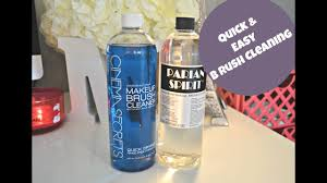 parian spirit vs cinema secrets brush cleaner skin makeup