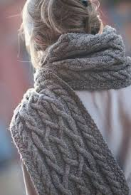 Cable Knit Scarf Pattern Beauteous The Cascades Knit Scarf Knitting Pinterest Scarf Patterns
