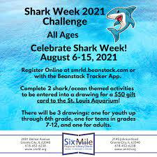 Shark Week 2021 All Ages Challenge Six ...
