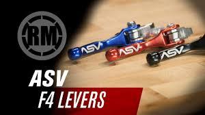 ASV F4 Series <b>Dirt Bike Clutch</b> and <b>Brake</b> Levers - YouTube