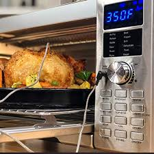 Nuwave Bravo Xl 1800 Watt Convection Oven With Crisping And Flavor Infusion Technology Fit With Integrated Digital Temperature Probe For Perfect