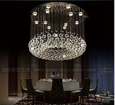 luxurious lighting. Fashion Modern Luxurious Round Dia60/80 Crystal Led Pendant Lamp Parlor Hotel Entrance Foyer Chandelier Lighting