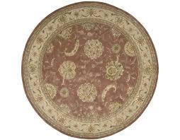 nourison 2215 rose circle rug