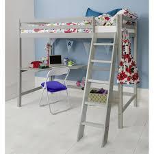 High Sleeper Cabin Bed in Silk Grey Thomas