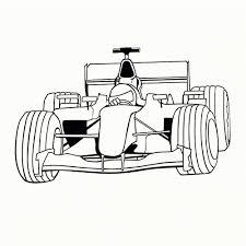 25 Printen Formule 1 Auto Tekening Kleurplaat Mandala Kleurplaat