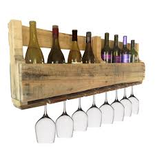 Bar Made Out Of Pallets Pallet Wine Rack Wine Bar Made From Pallets