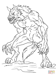 Small Picture Inspirational Werewolf Coloring Pages 82 About Remodel Free