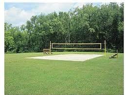 Outdoor Volleyball Court  Backyard Beach Volleyball Courts Backyard Beach Volleyball Court
