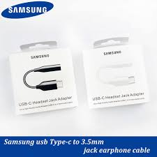 Samsung Jack Tai Nghe Chụp Tai Chuyển Đổi Cáp USB Type C Đến 3.5 Mm Cho  Galaxy Note 10 9 8 Plus S10 S9 s8 USB 3.5 Tai Nghe Có Âm Thanh|Mobile Phone  Cables