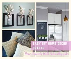 easy diy home decor crafts your friends will actually like