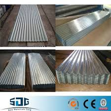 types of roofing sheet galvanized prepainted profiled metal roof sheet waved style steel