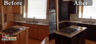kitchen cabinet refinishing denver nhance cabinet restoration