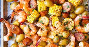 sheet pan shrimp boil delicious