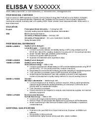 Biotech Resume Examples Biotechnology Resume Under Fontanacountryinn Com
