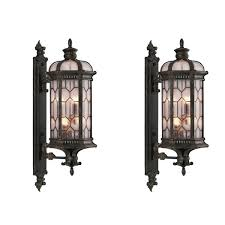 outdoor wall mounted lighting antique