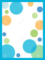 Polka Dot Invitations Blue Polka Dot Invitation Background