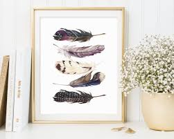 classy design feather wall art home wallpaper feathers printable print zoom panels diy target australia nz