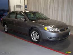 2006 Dark Silver Metallic Chevrolet Impala LS #21212438 | GTCarLot ...